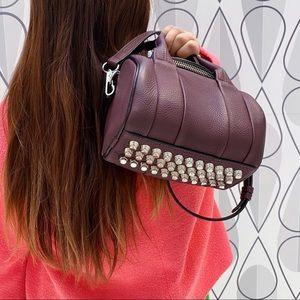 ALEXANDER WANG Leather Rockie Rivet Bag